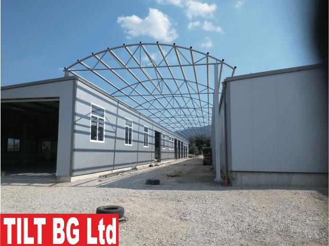 Производство на метални конструкции - проектиране и монтаж